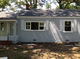Exterior House Painting - After