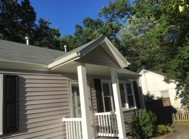 New Portico, Roof, & Siding
