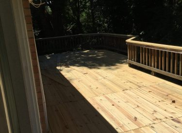 Deck & Fence Backyard – Whole House Remodeling Project