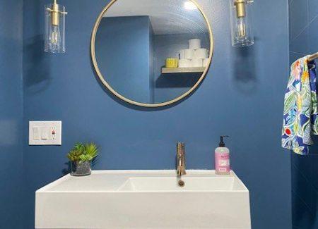 Half Bathroom Renovation – Fairfax, VA